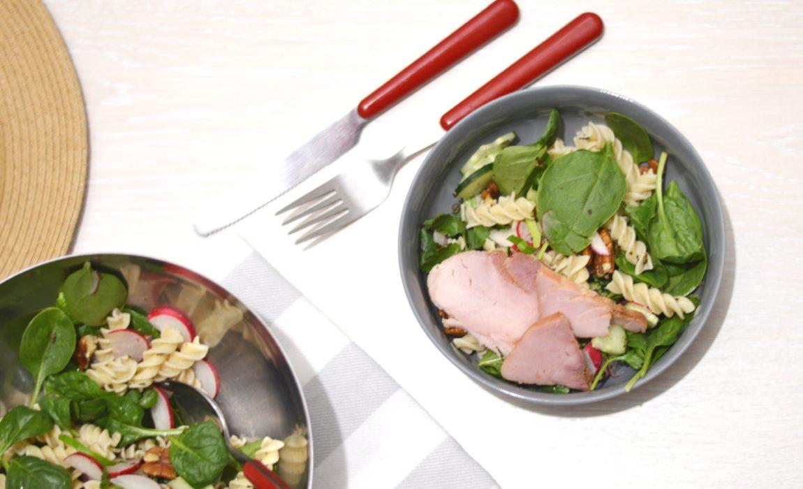 Salade toute verte aux pâtes complètes {#Grand'Mère Pâtes d'Alsace}