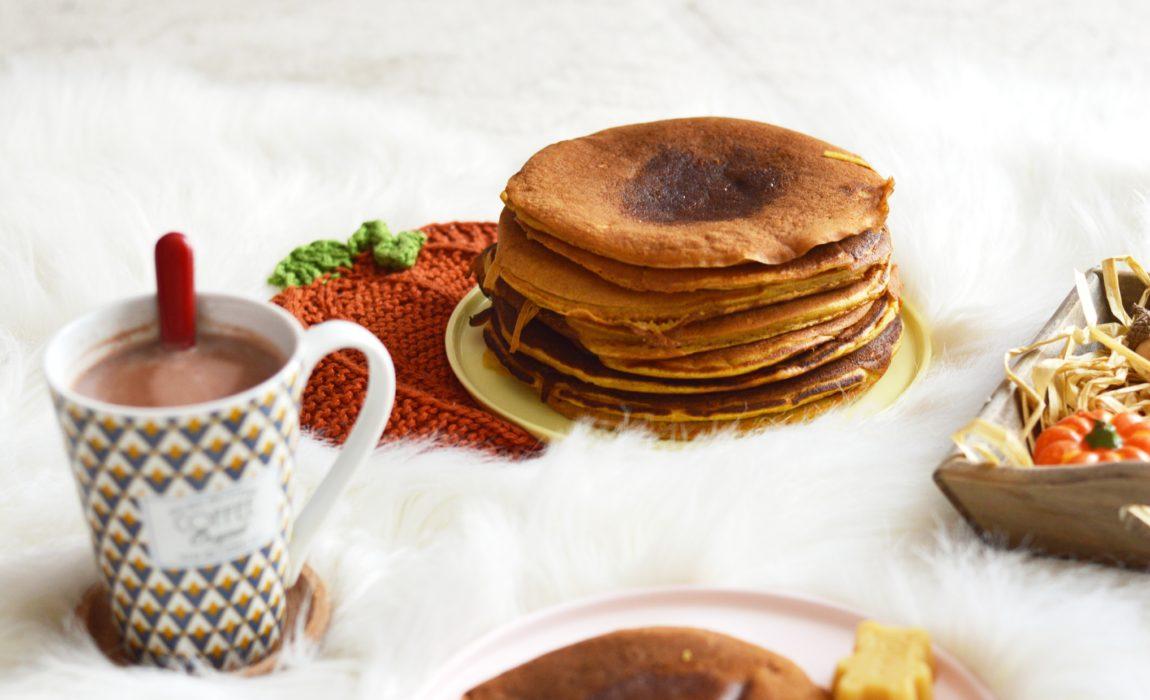 Pancakes à la citrouille {Bataille Food #61}