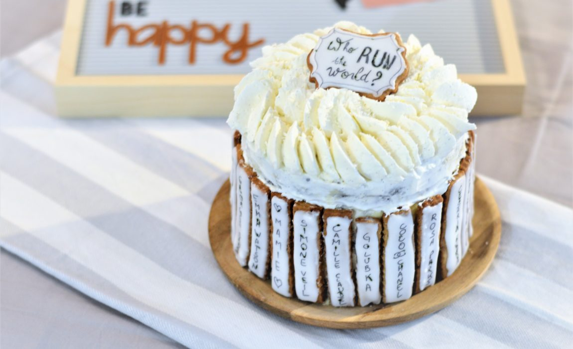 GIRL POWER ⚡️ Layer cake chocolat noix de coco {Battle Food #70}