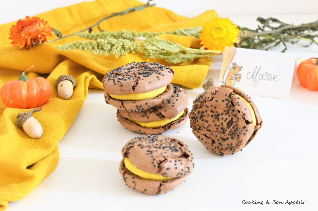 Image 4 macaron citrouille