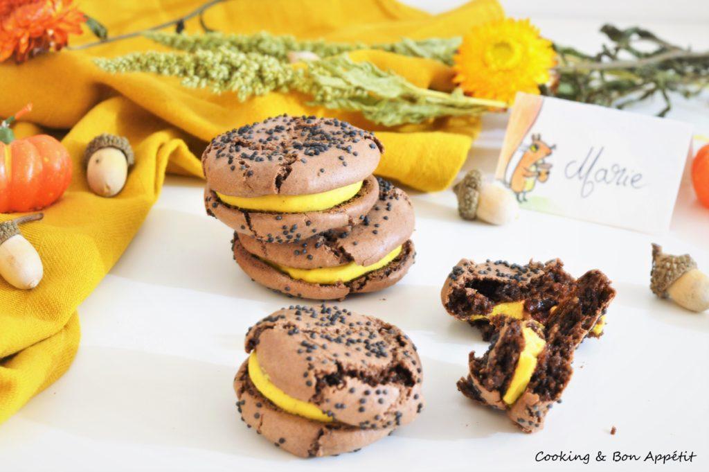 Image 1 macaron citrouille